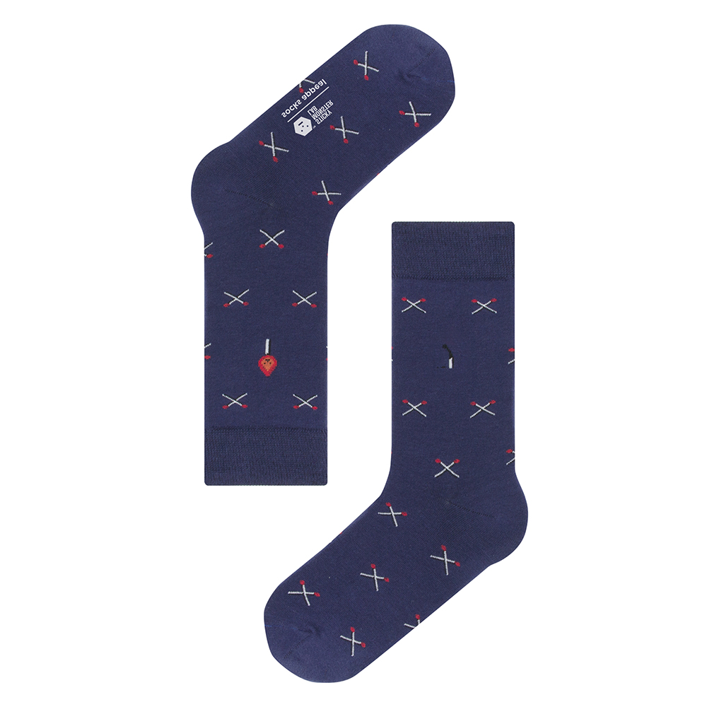 socksappeal  SML, matches navy pattern