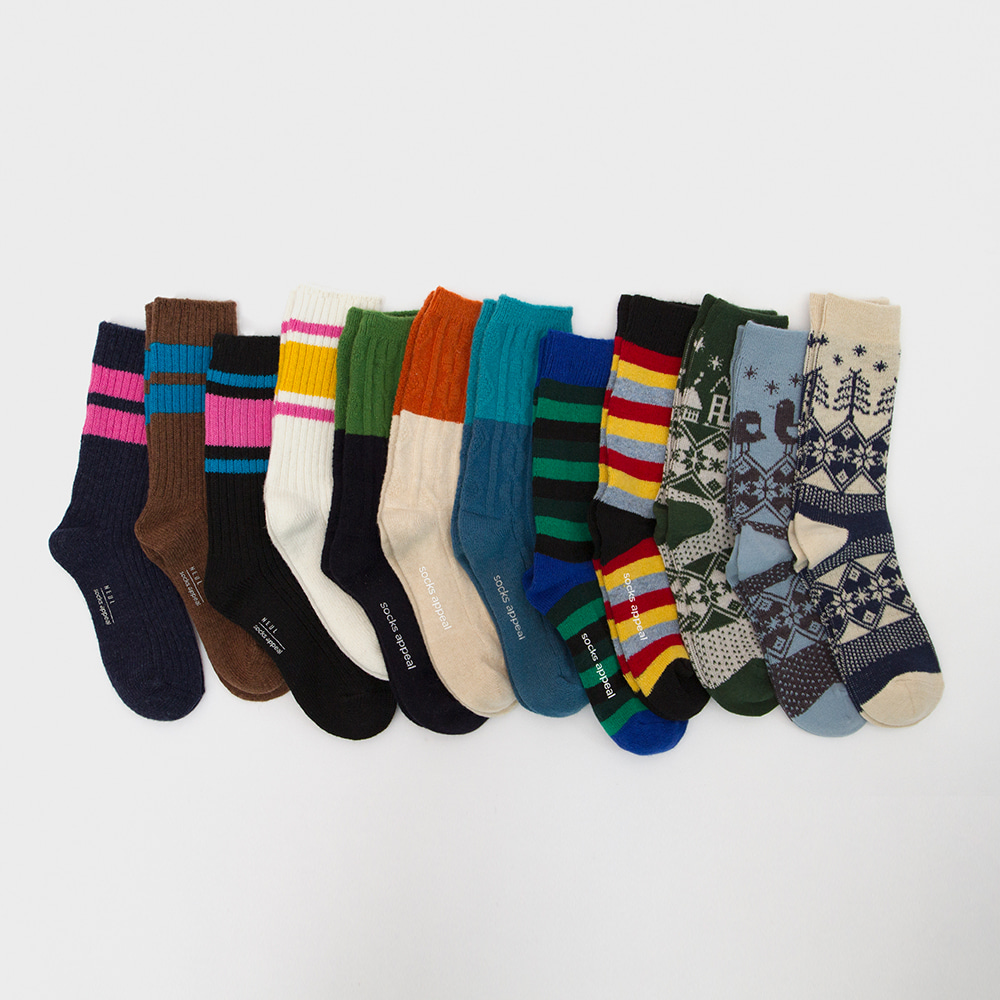 wool socks 3pack (15% OFF)