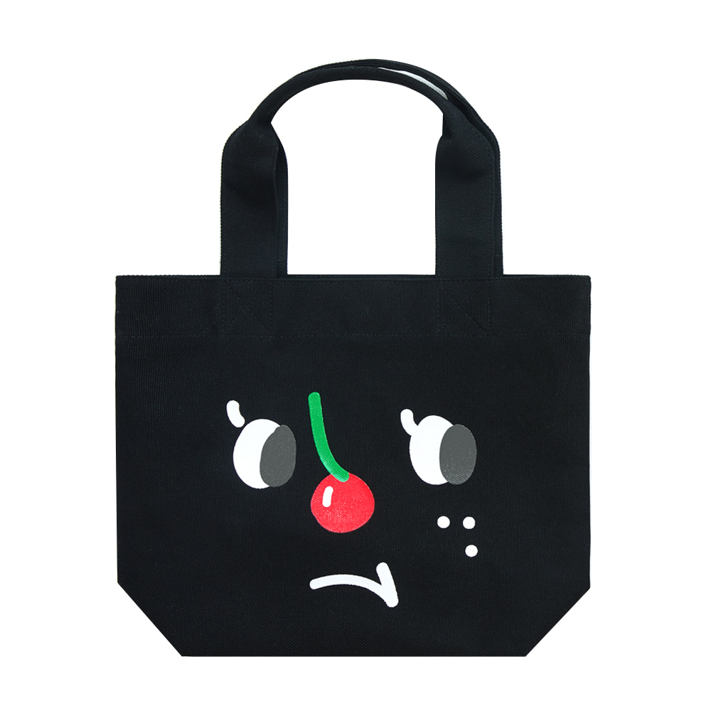slowcoaster black cherry nose tote