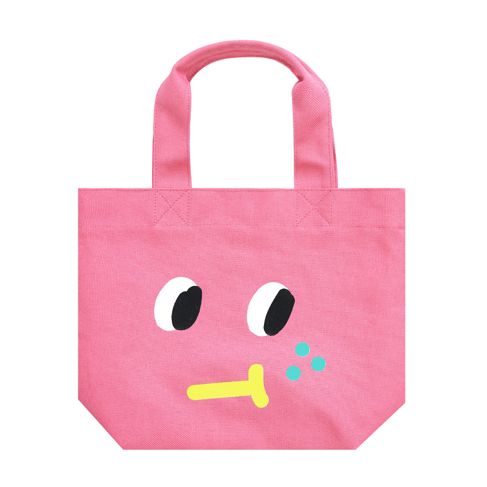slowcoaster pink freckle tote (EVENT 50% OFF)