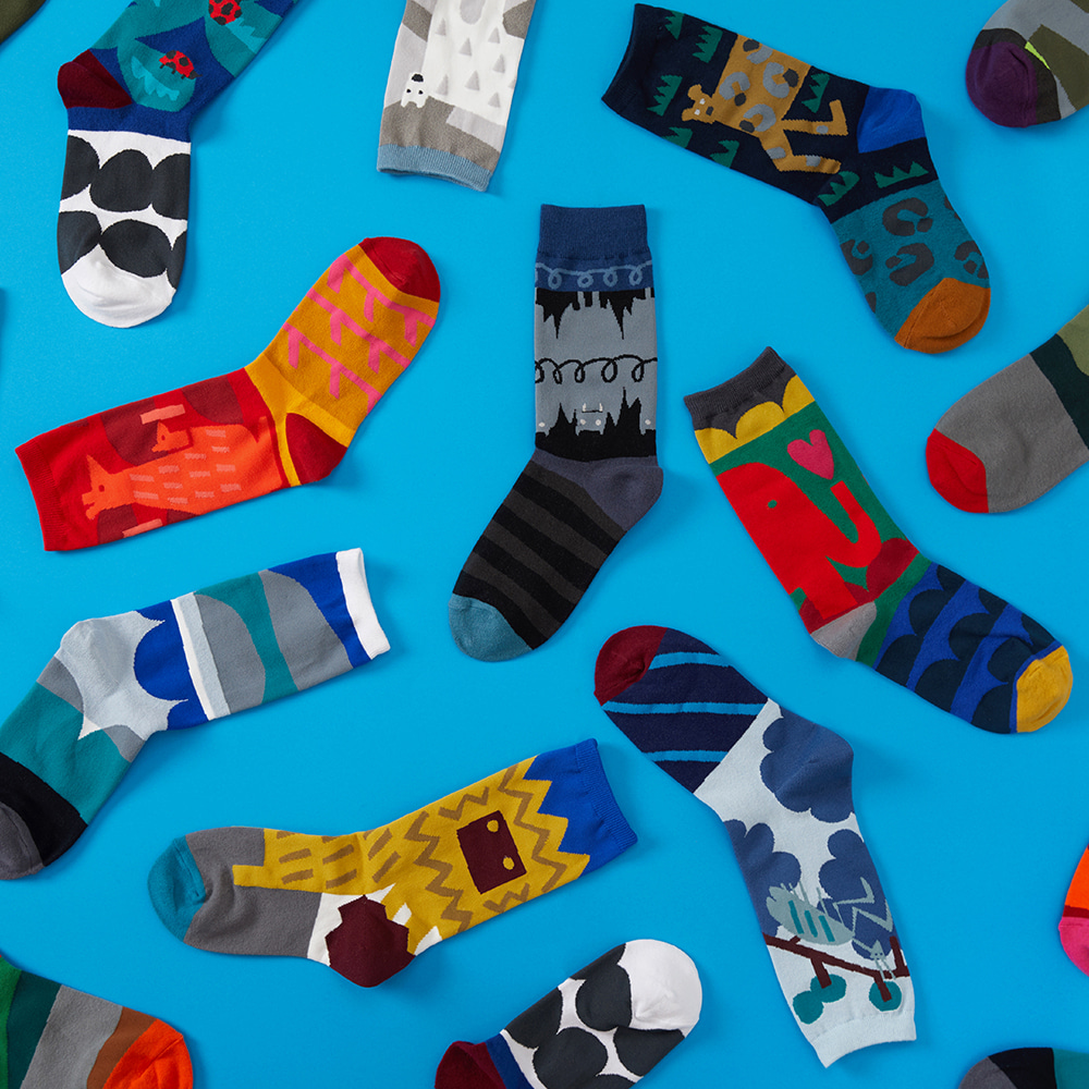 19FW Collaboration 'MS X socks appeal'