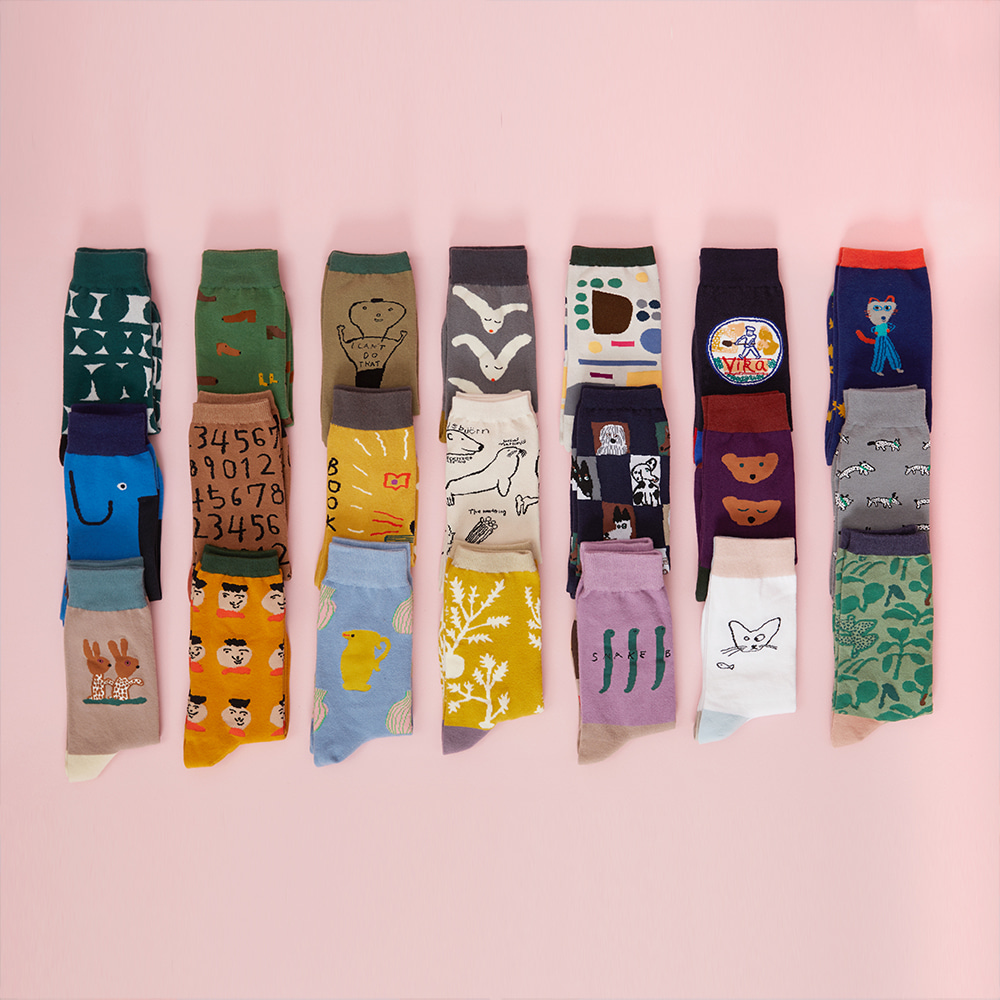 19FW Collaboration 'MOGU X socks appeal'