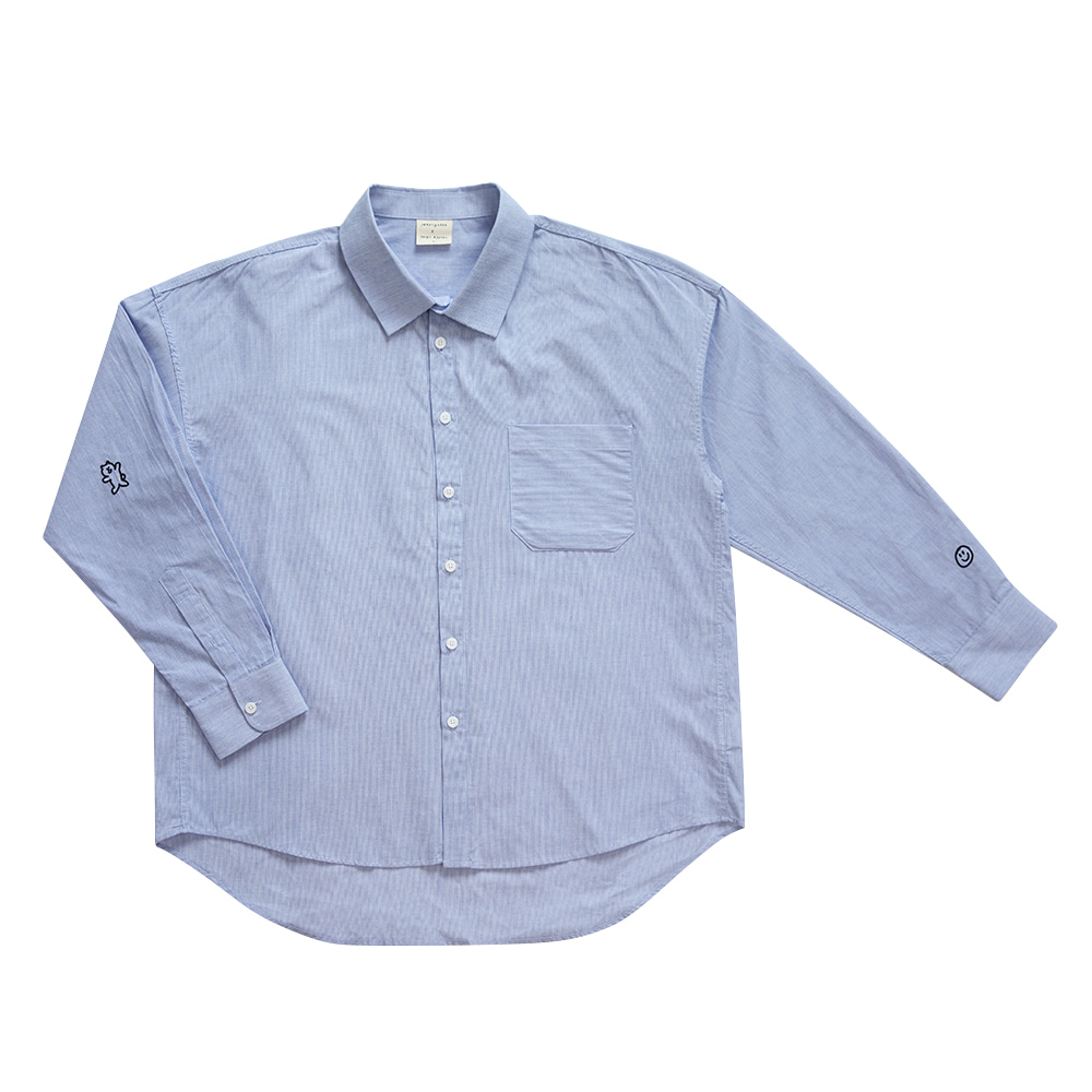 INAP shirt love blue (OPEN EVENT 10% OFF)