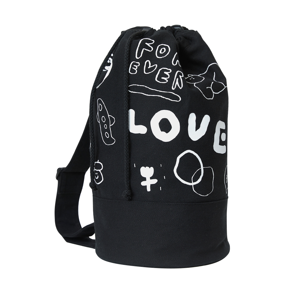 INAP duffle bag love (OPEN EVENT 10% OFF)