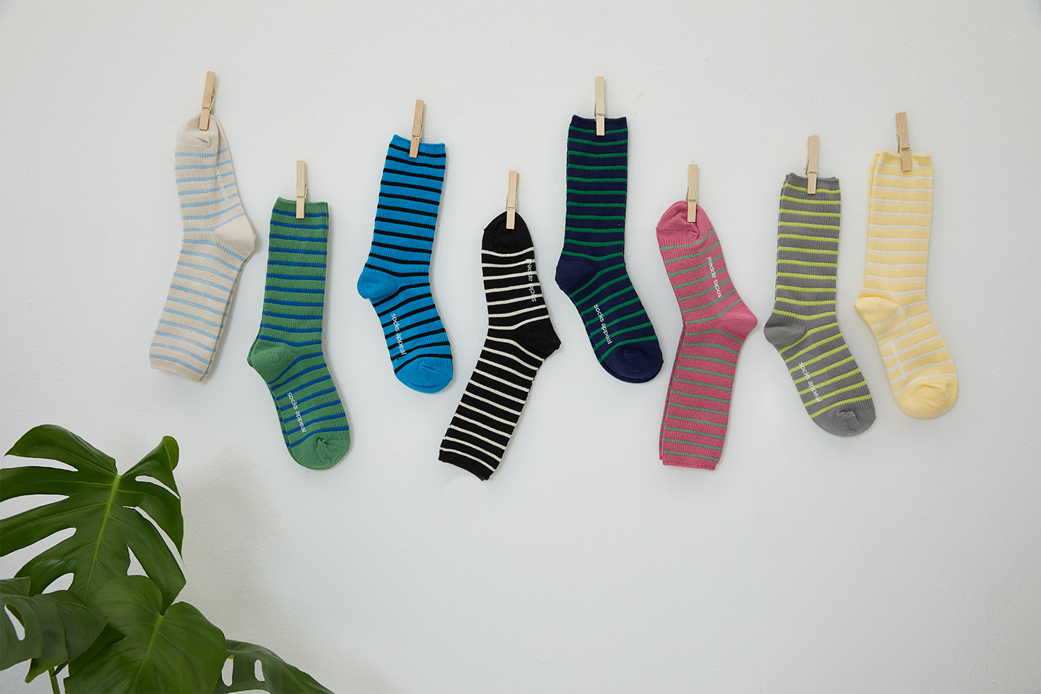 19S/S STRIPE SOCKS